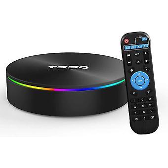 Android TV Box, Android Box 9.0 S905X2 Quad-Core Cortex-A53 mit 4 GB RAM 64 GB ROM Unterstützung 2,4 G / 5 G WiFi / H.265 Decodierung / 4K Full HD Ausgang / HD 3.0 / 100 M Ethernet / Bluetooth 4.1 Smart TV Box (Schwarz)