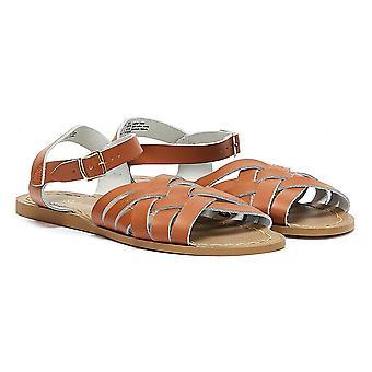 Salt Water Retro Womens Tan Sandals