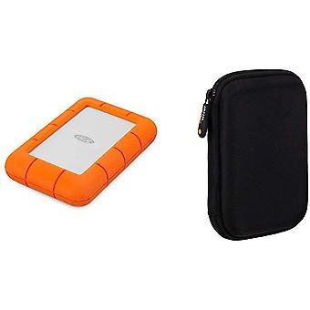 Wokex Rugged Mini, 4 TB, tragbare Externe Festplatte, 2.5 Zoll, USB 3.0, Mac PC, Modellnr.: