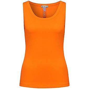 Street One 316010 T-Shirt, Tangerine Shiny, 46 Woman