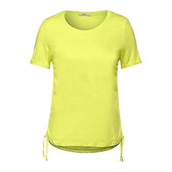 Cecil 316246 T-Shirt, Sunny Lime, M Woman