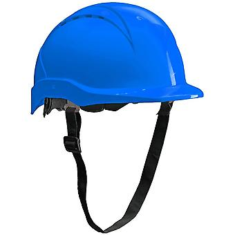 Patera Bauhelm - Belüfteter Schutzhelm für die Baustelle - EN 397 - Blau