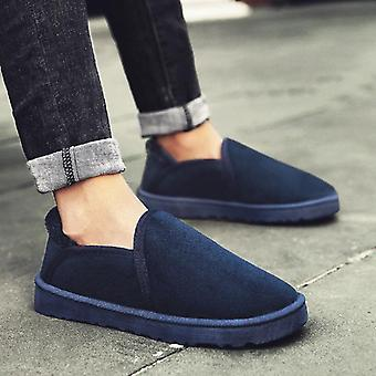 Thick Plush Winter Ankle Comfortable Light Lazy Flats Shoes For Woman