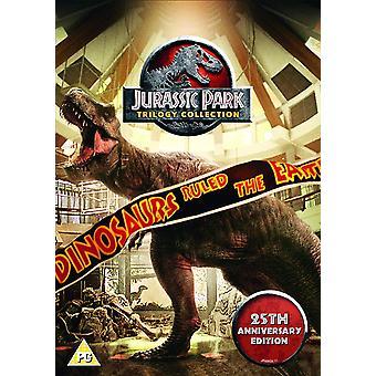 Jurassic Park Trilogy 25th Anniversary Edition DVD