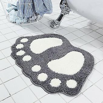 Soft Non-slip Bathroom Rug Absorbent Microfiber Shaggy Mat