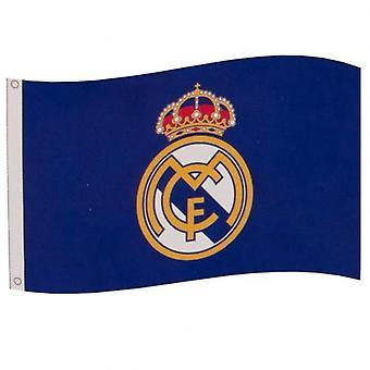 Real Madrid FC Flag Blue