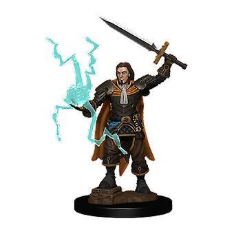 Pathfinder Battles - Chierico umano maschile Figura pre-dipinta