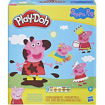 Play-Doh Peppa Gris Styling Lekesett
