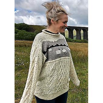 Unisex Wool Dales Sheep Jumper