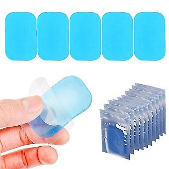 Almofadas de gel de substituição Folha abdominal cinto toning músculo toner ABS Stimulator Hydrogel Pads Adesivo