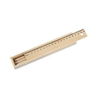 Set of Coloured Pencils and Ruler 143386