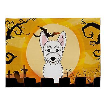 Caroline's Treasures BB1784PLMT Halloween Westie Stoff Tischset, Multicolor