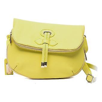 Women's Bolsa Trussardi Couro Amarelo