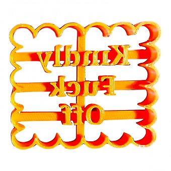 Cookie Molds With Good Wishes Cookie Form With Fun And Irreverent Phrases Cookie Moulds For Baking