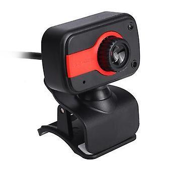 USB Laptop Camera 360-graders 500W Pixels 480P HD-opløsningmed mikrofon til bærbar pc