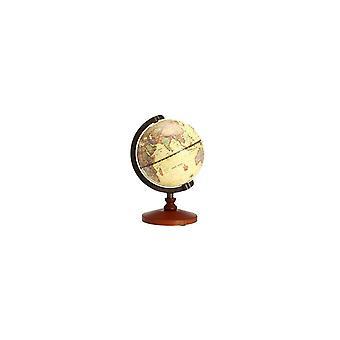 שולחן עבודה וינטג מסתובב כדור הארץ העולם מפה גלובוס גיאוגרפיה עתיקה בית תפאורה מתנה
