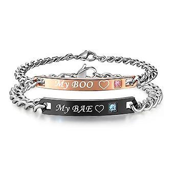 Love Bracelet-Pars smycken-My Boo/My Bae