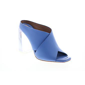 BCBG Max Azria Adult Womens Ilia Soft Dress Calf Mules Heels