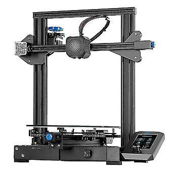 CREALITY 3D Tulostin Ender-3 V2 kanssa TMC2208 Stepper Ajurit Uusi KÄYTTÖLIITTYMÄ&4.3 Tuuman Väri LCD sänky