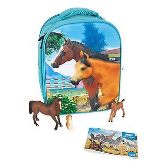 Mojo Farmland 3D Backpack Playset