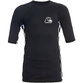 Quiksilver Unisex Kids Arch Denne Korte Ermet UPF 50 Vakt T-skjorte - Blå