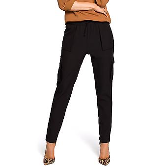 Made Of Emotion Women's M425 Casual Pants