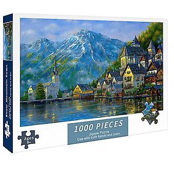 1000 Pieces Paper Puzzles Jigsaw Educational Intellectual DIY Game Toys Gift