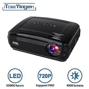 4500 lumens 1280*768 LED data show HD TV Projector
