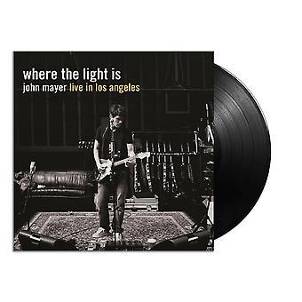 John Mayer - Where The Light Is: John Mayer Live In Los Angeles Vinyl