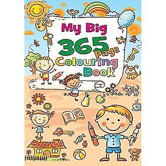 Meine große 365 Seiten Färbung Bk