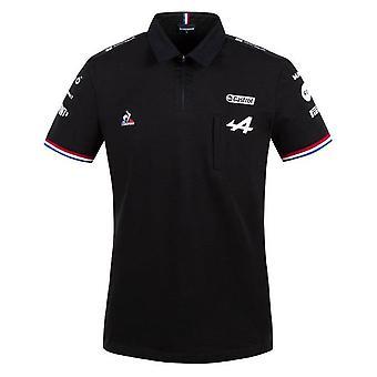 2021 Alpine Polo Shirt (Black)
