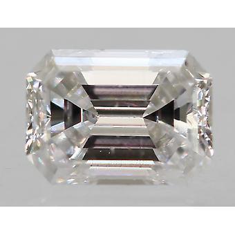 معتمد 0.21 قيراط D VVS2 الزمرد تعزيز الماس فضفاضة الطبيعية 4.04x2.9m 2EX