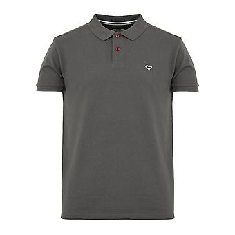 Weekend offender aw21 cannon polo - dark charcoal
