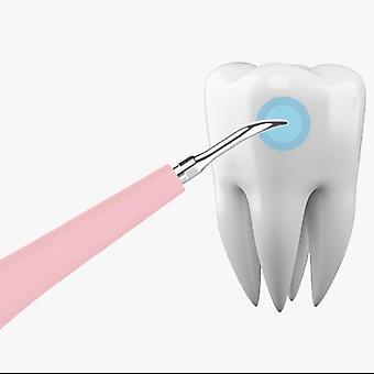 Kannettava sähköinen ääni hammasvaa'at hammaslaskenta poistaja hammastahrat tartar työkalu hammaslääkäri valkaisu