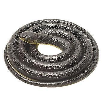 Realistische gefälschte Gummi Schlange Spielzeug schwarz gefälschte Schlangen