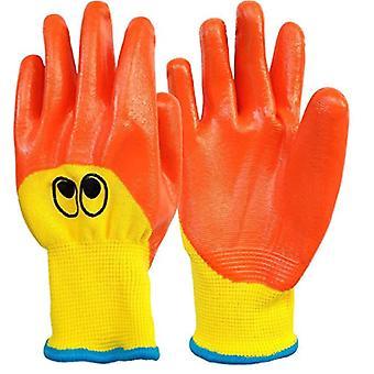 Children's Gardening Gloves Breathable Durable And Oil-resistant Gloves