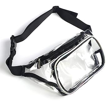 Transparent vattentät modebältesväska
