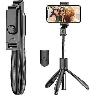 Laajennettava Selfie Stick -kolmijalka irrotettavalla langattomalla Bluetooth-kaukosäätimellä