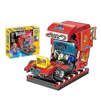 Venalisa Amusement Park Diabelski młyn Jumper Series Zmontowane klocki konstrukcyjne Zabawki dla dzieci