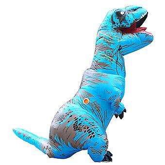 Kék Felnőtt Tyrannosaurus Rex felfújható jelmez felnőtt dinoszaurusz jelmez