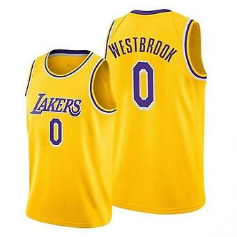 Los Angeles Lakers Russell Westbrook Jersey Basketball Uniform Sport Shirts