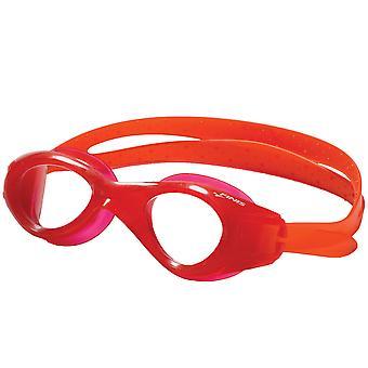 FINIS 硝基游泳护目镜 - 红色/透明