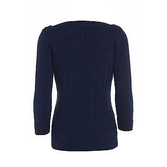 Three Quarter Grey Knitted Jumper UK SIZE 12