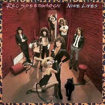 REO Speedwagon - Nine Lives [CD] USA import