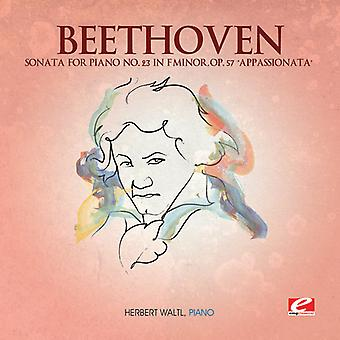 L.V. Beethoven - Beethoven: Sonata voor Piano nr. 23 in F mineur, Op. 57 'Appassionata' [CD] USA import