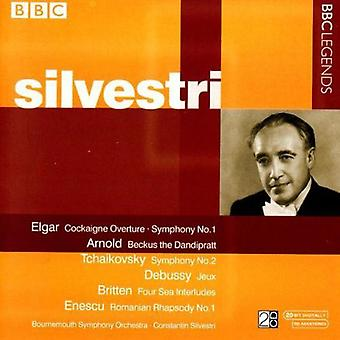 C. Silvestri - Silvestri Conducts Elgar, Arnold, Tchaikovsky, Debussy, Enescu [CD] USA import
