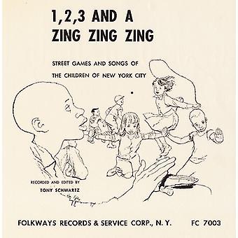 Tony Schwartz - 1 2 3 & a Zing Zing Zing [CD] USA import