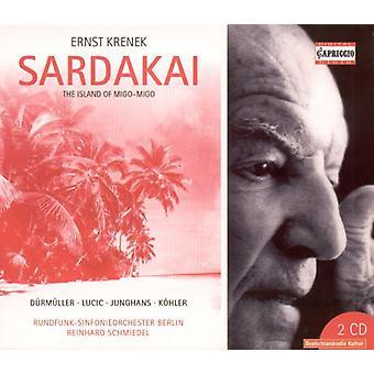 E. Krenek - Ernst Krenek: Sardakai [CD] USA import