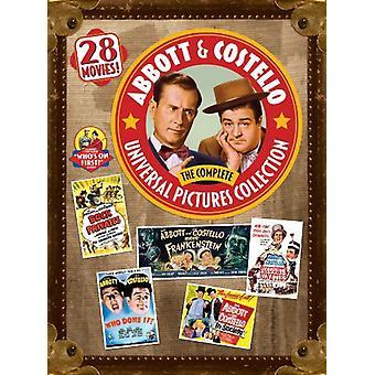 Abbott & Costello: Completa Universal Pictures [DVD] EUA importar