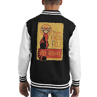 Les Furets de Feu Legend Of Korra Kid's Varsity Jacket